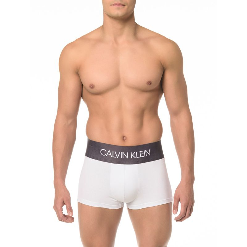 Cueca Boxer Low Rise Trunk Cotton Calvin Klein MAS1822