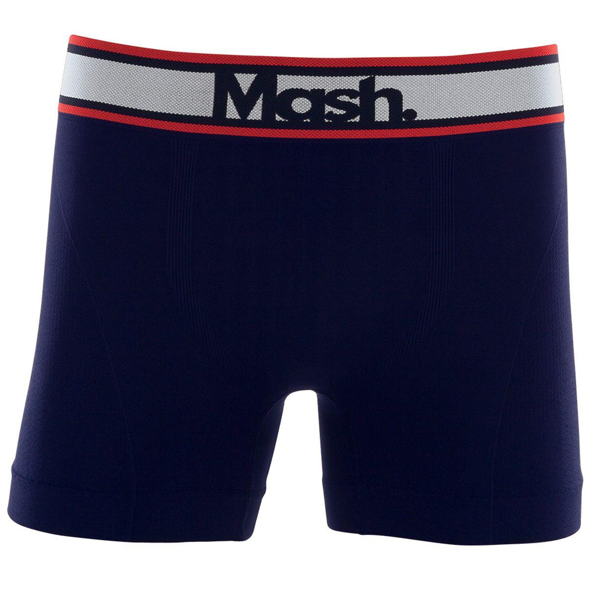 Cueca Boxer Mash Microfibra Sem Costuras - 710.03
