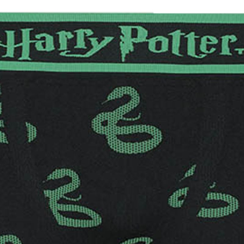 Cueca Boxer Sem Costura Harry Potter Sonserina Lupo 16973-002
