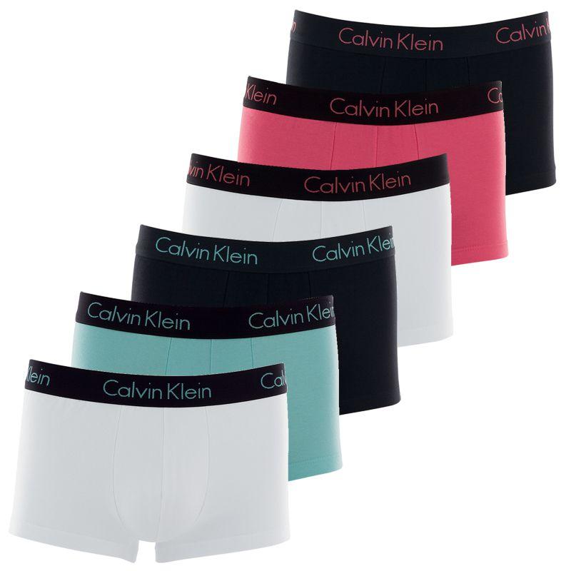 Cueca Boxer Trunk Calvin Klein Cotton - C12.01