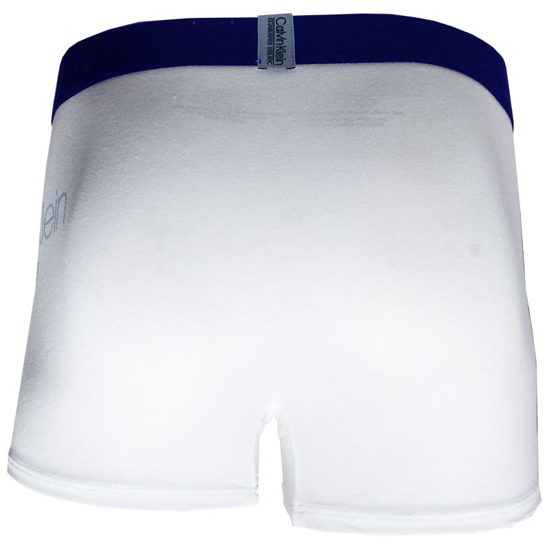 Cueca Boxer Trunk Evolution Cotton Calvin Klein - TRE2007 - Branca