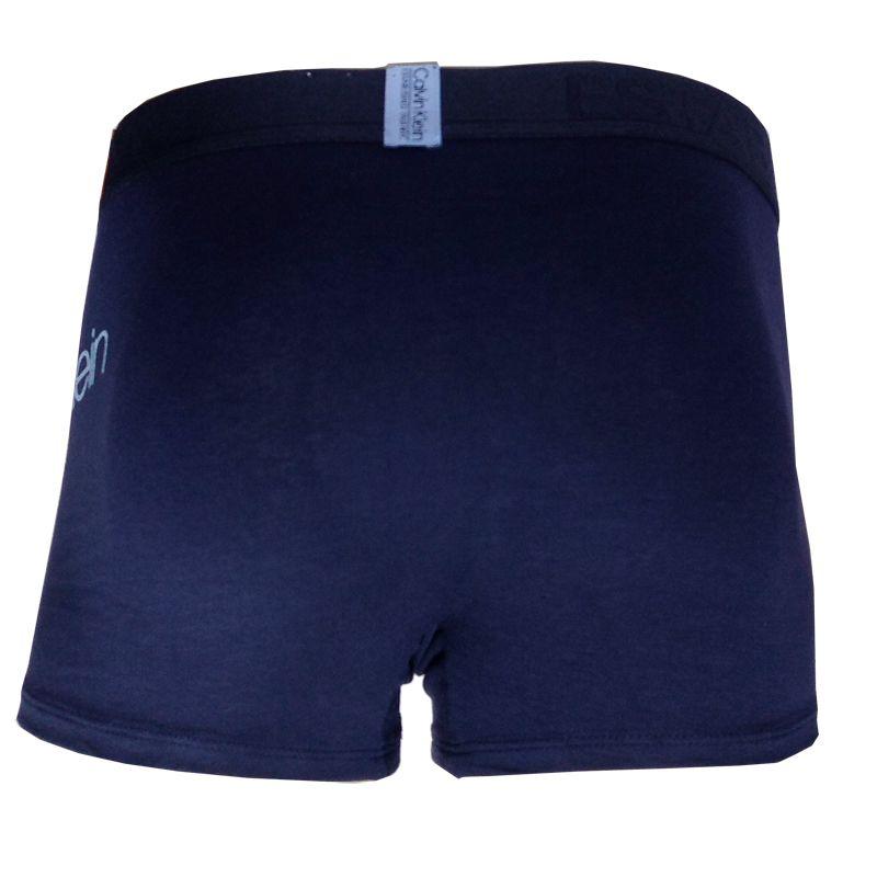 Cueca Boxer Trunk Evolution Cotton Calvin Klein - TRE2007 - Marinho