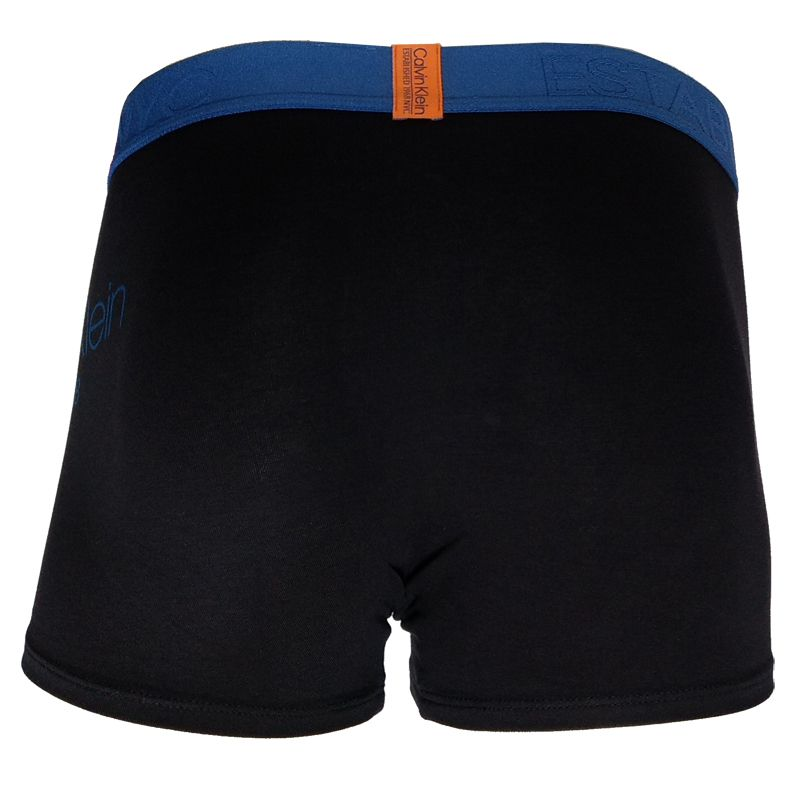 Cueca Boxer Trunk Evolution Cotton Calvin Klein - TRE2014 - Preta