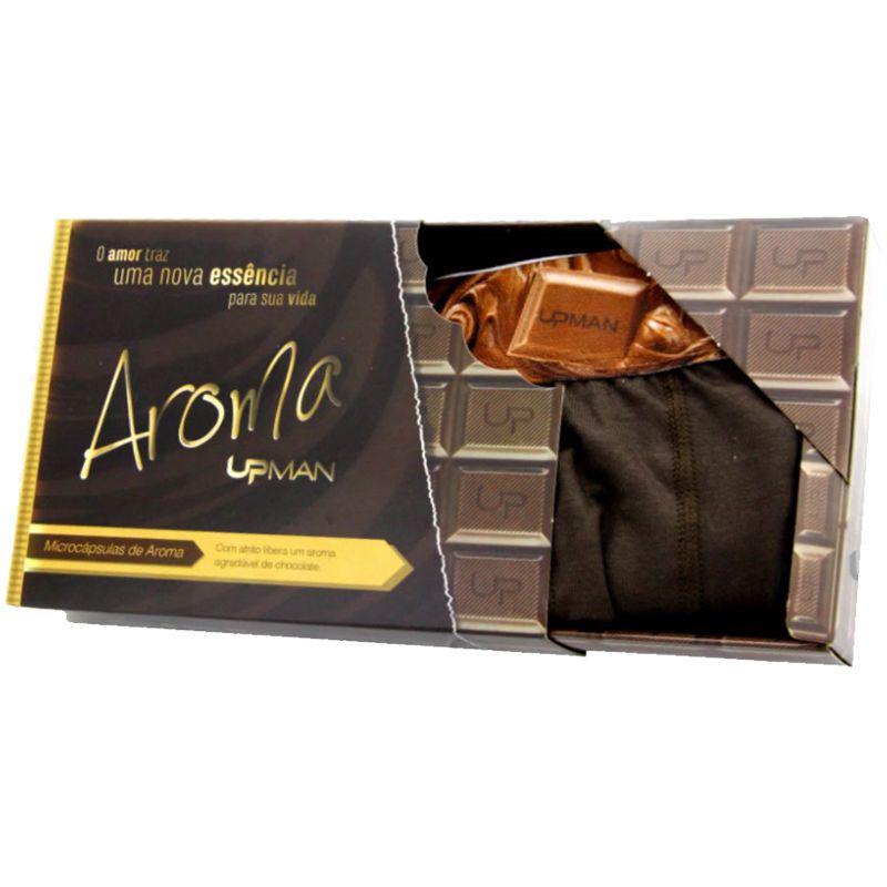 Cueca Boxer Upman Aroma de Chocolate - 161VE