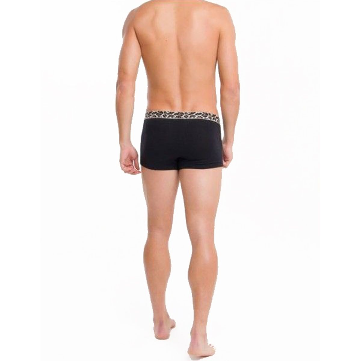 Cueca Calvin Klein Low Rise Trunk Animal Cotton MAS1832