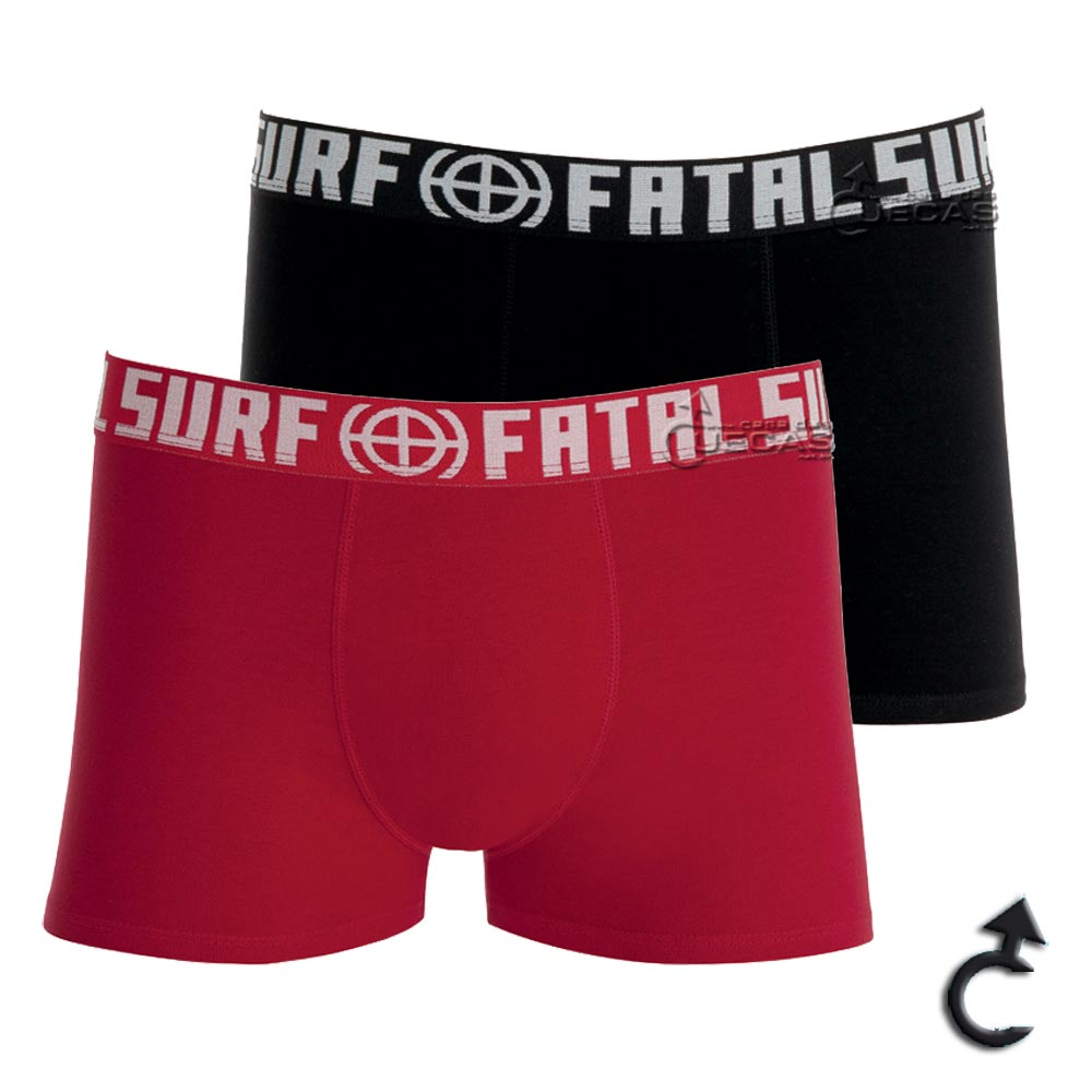 Cueca Fatal Surf Boxer Cotton - FA1.06