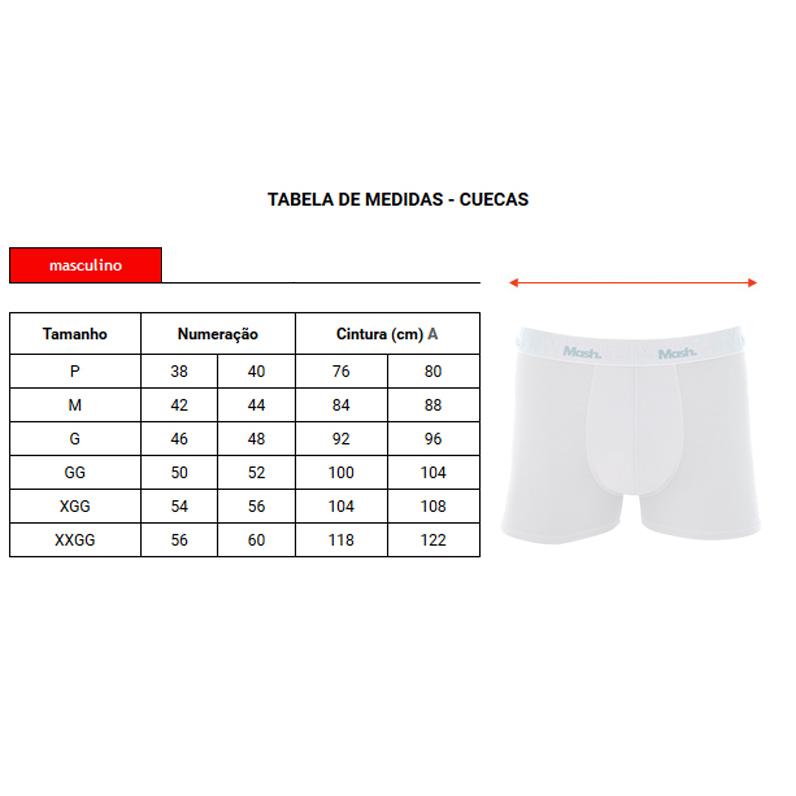 Cueca Mash Boxer Modal Basic - 170.05