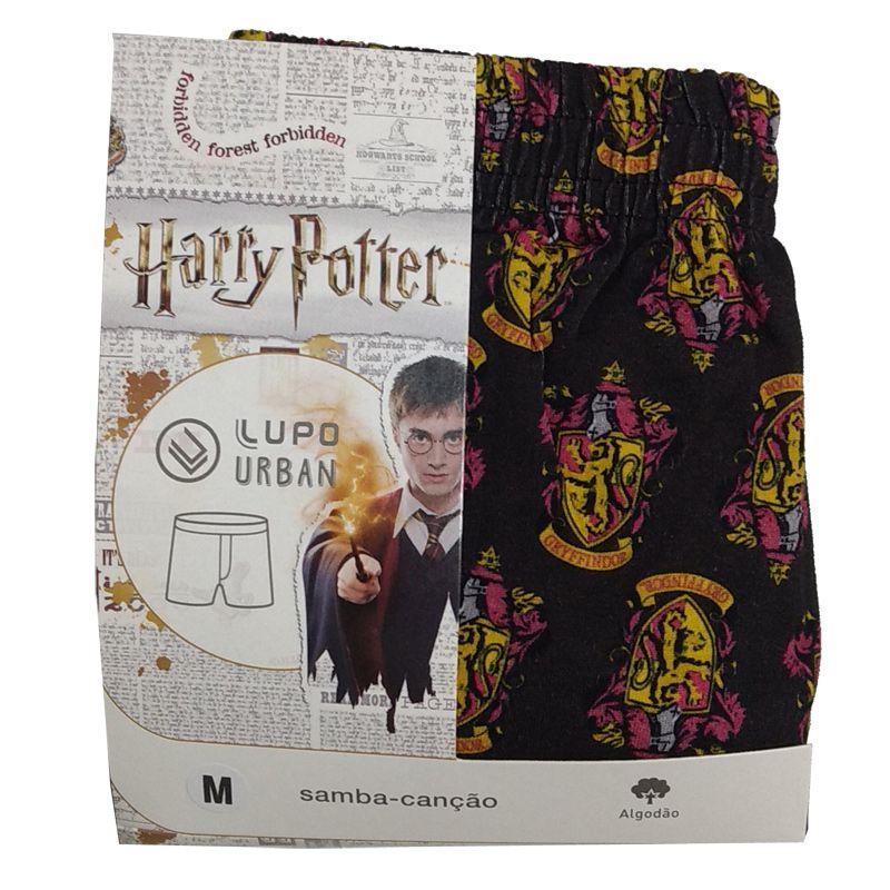 Cueca Samba-Canção Harry Potter Grifinória Lupo Urban - 16956-001