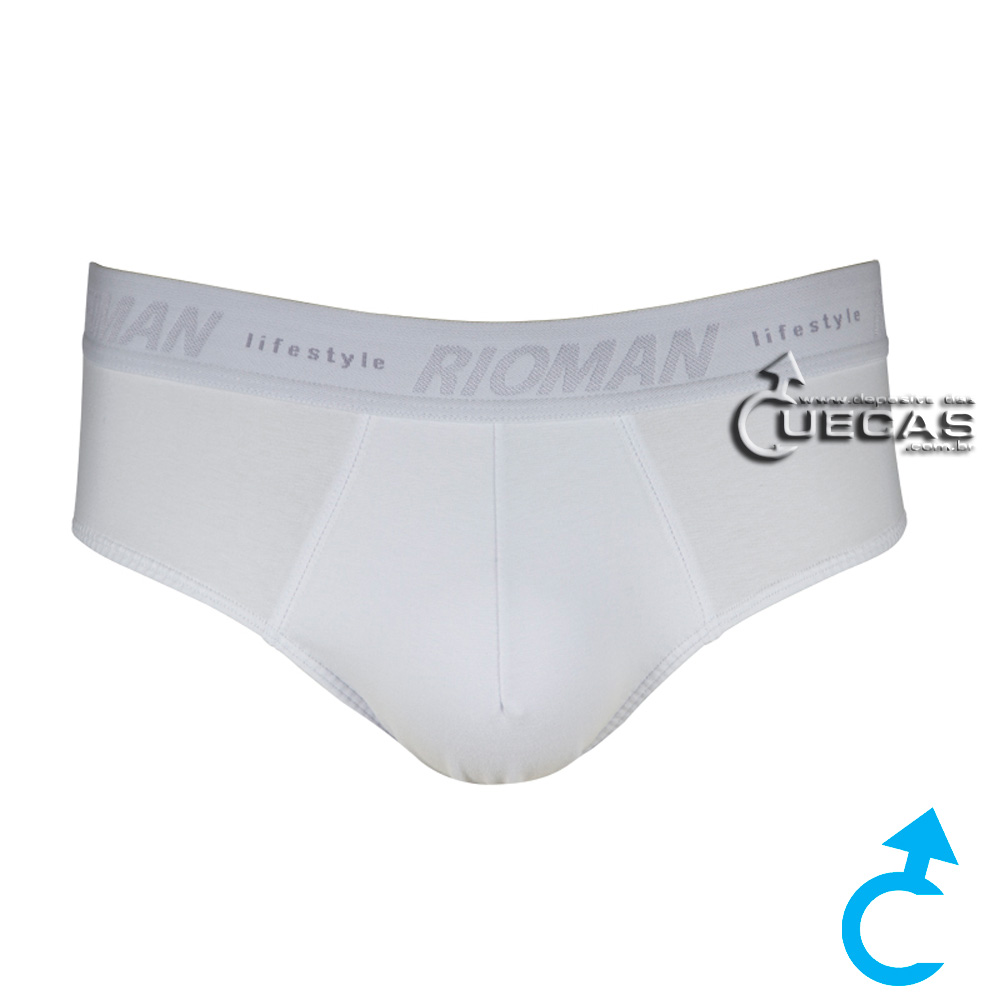 Cueca Slip Cotton RioMan SL12401