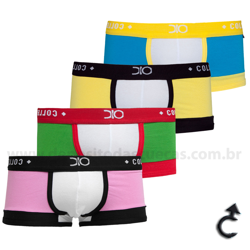 Cueca Sungão Mini-Boxer Premium Dionísio Collection