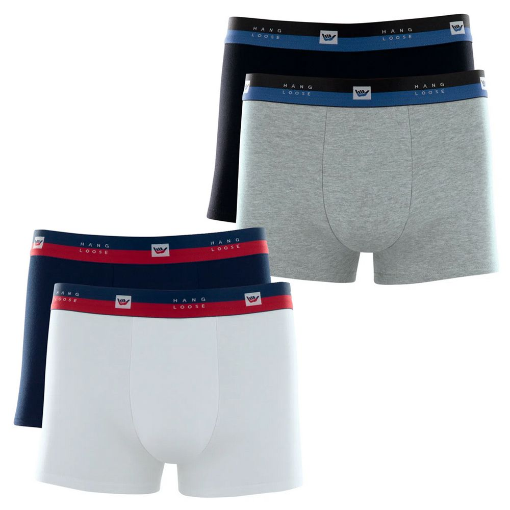 Kit c/2 Cuecas Boxer Hang Loose Cotton - HL1.14