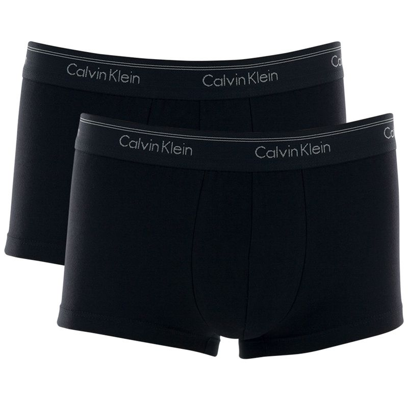 Kit c/2 Cuecas Calvin Klein Low Rise Trunk Cotton - C11.02