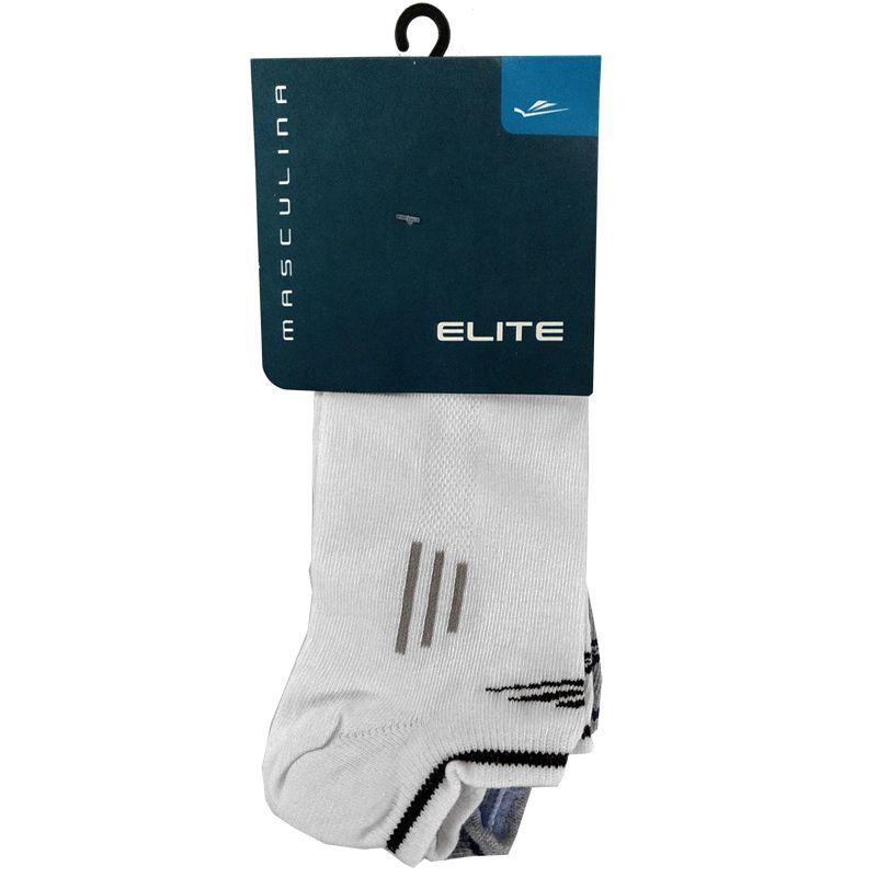 Kit C/2 Meias Sapatilhas Elite  - 017156