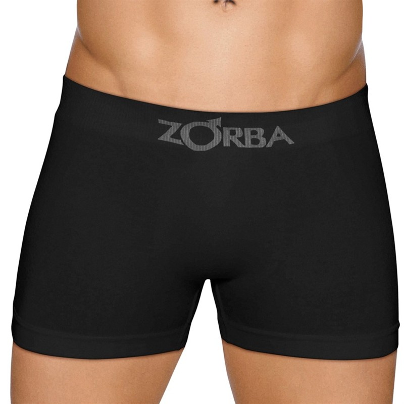 Kit c/5 Cuecas Zorba Boxer Sem Costura Algodão - 0781