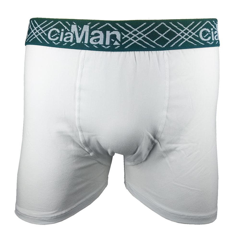 Kit c/6 Cuecas Boxer Cotton Plus Size CiaMan BPS05