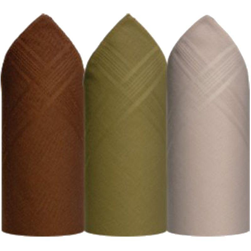 Lenço Premier Algodão Colorido C/3 39 x 39 cm - 344D