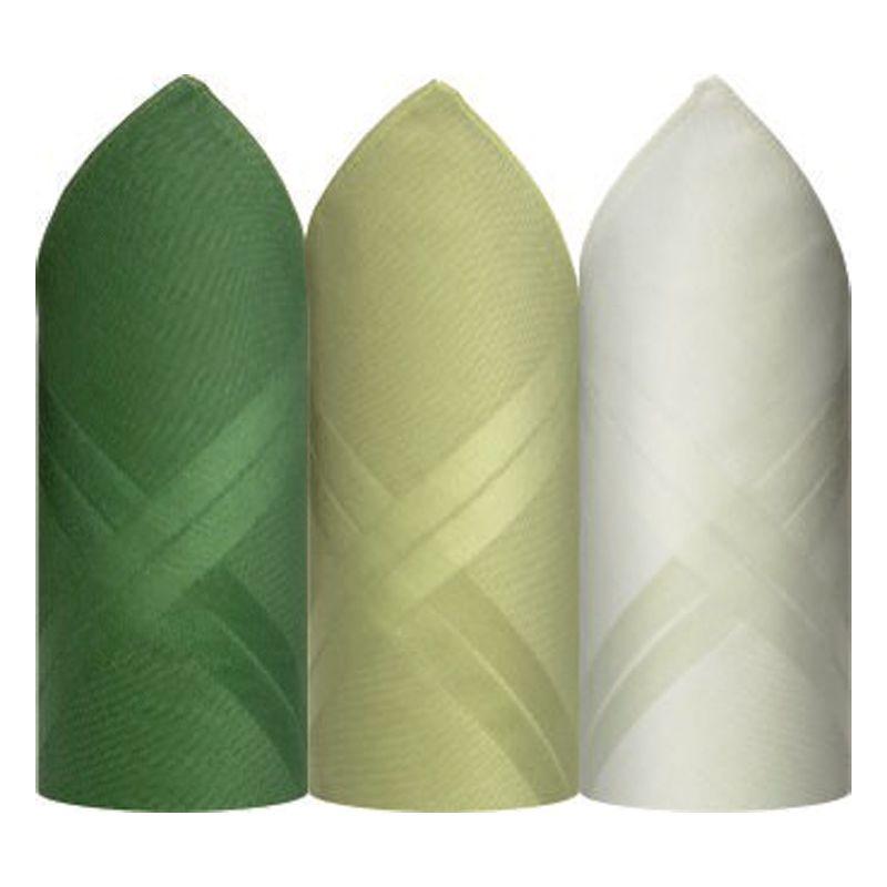 Lenço Presidente Fino Puro Algodão Colorido C/3 41 X 41 cm - P2720D
