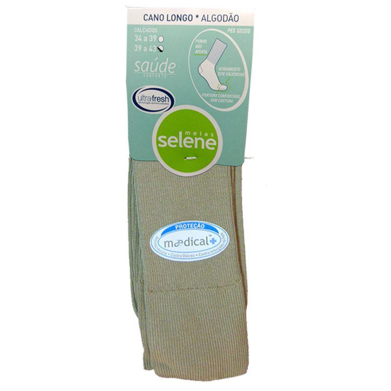 Meia Especial Saúde e Conforto Algodão Selene  - 6303