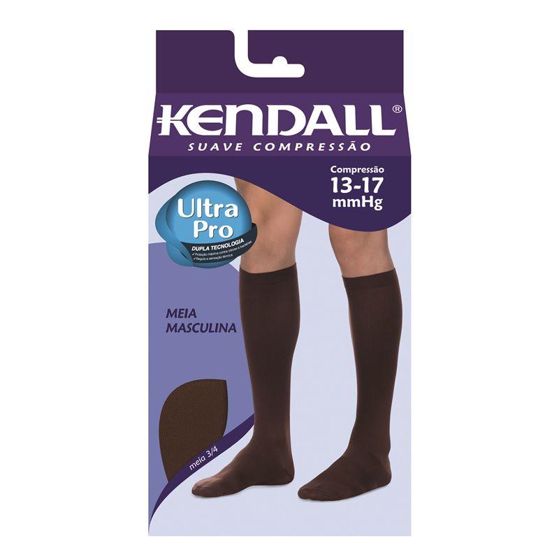 Meia Kendall Masculina 3/4 Suave Compressão 13-17 mmHg - 2702