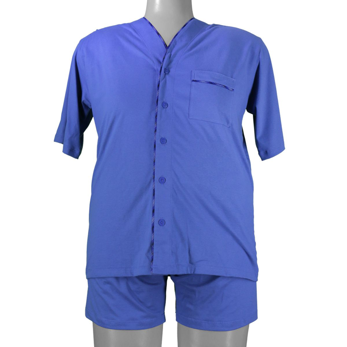 Pijama Curto Aberto Candisani Tamanhos EG1 a EG6 - 518