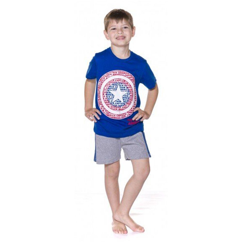 Pijama Infantil Capitão América Avengers - Marvel 52.05.0023