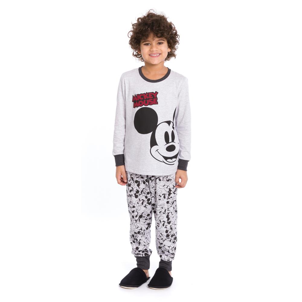 Pijama Infantil Longo Mickey Mouse - Disney 27.03.0008