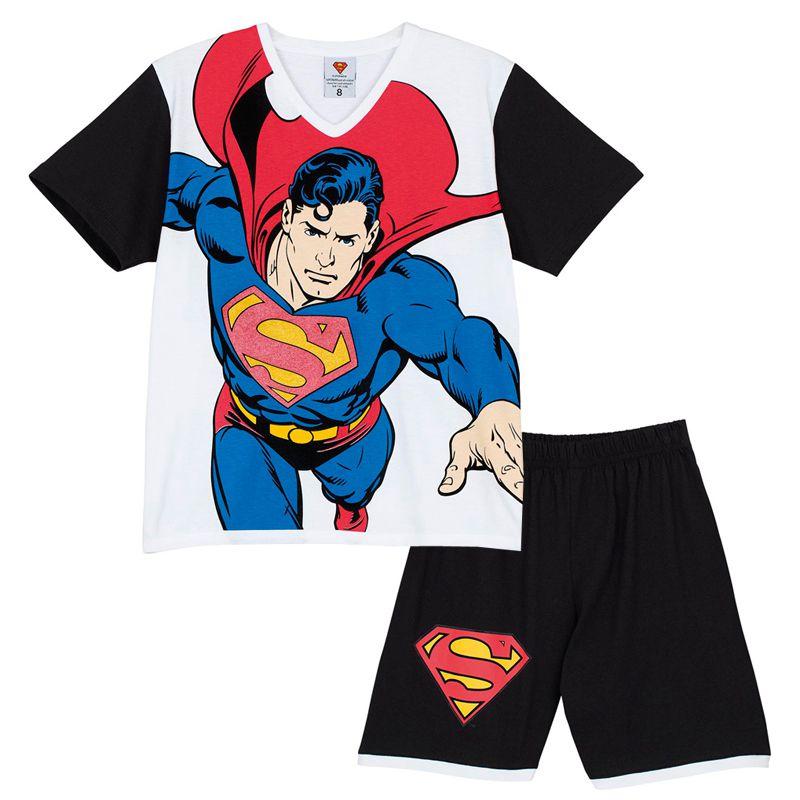 Pijama Infantil Superman Lupo - 23.115-004