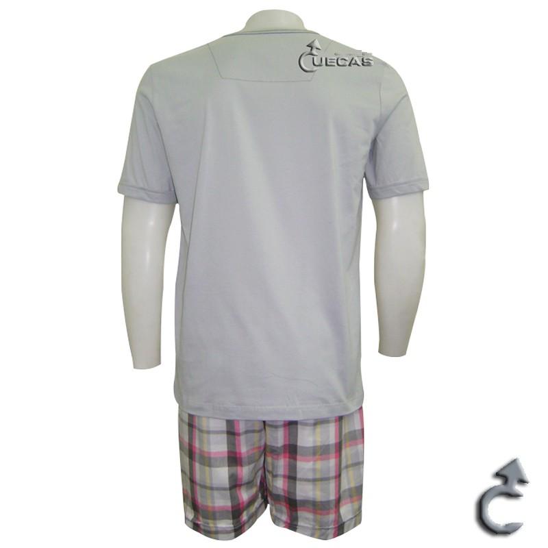 Pijama Just For Man Curto 1/2 Malha Maxi  - 15.000182