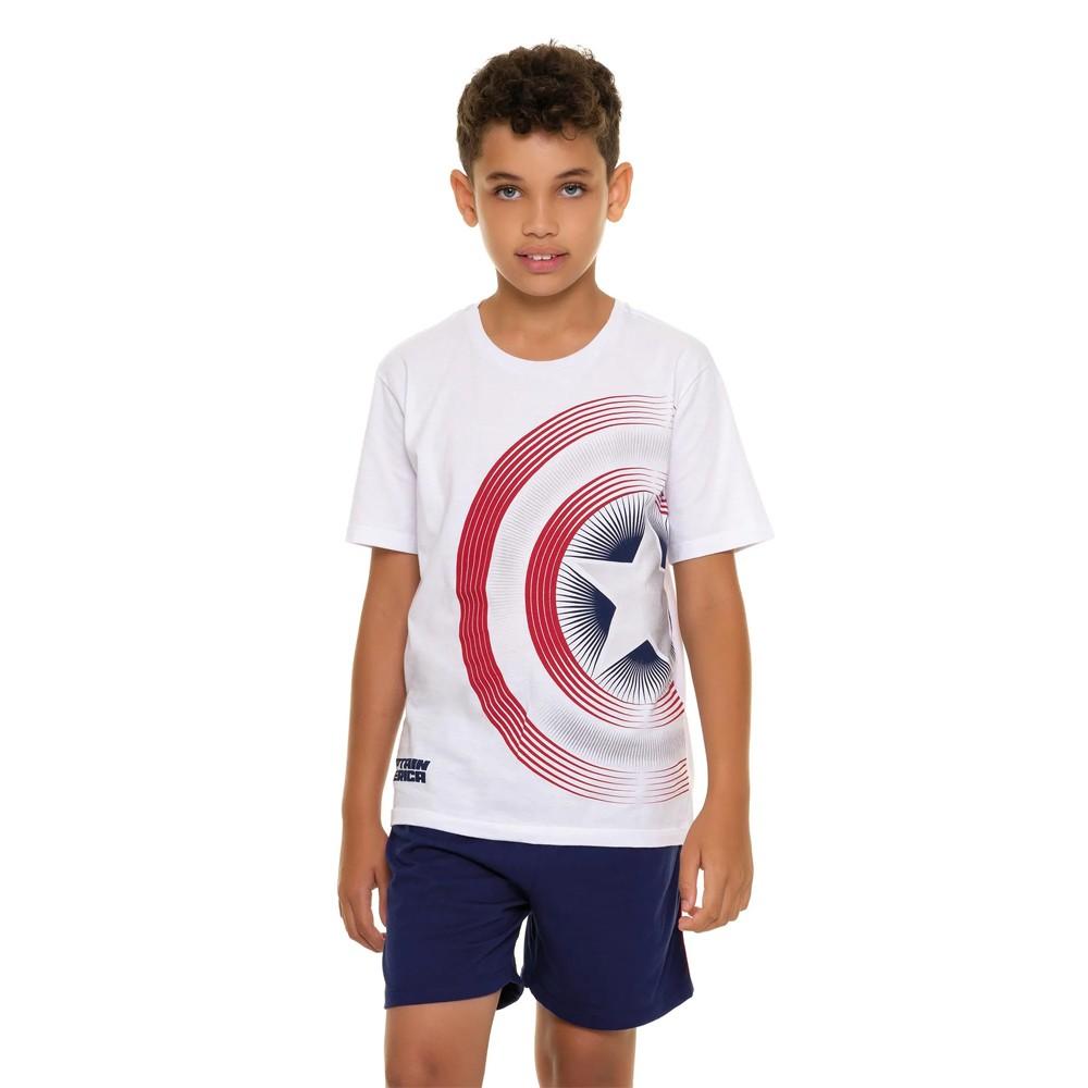Pijama Juvenil Menino Avengers 53.05.0007
