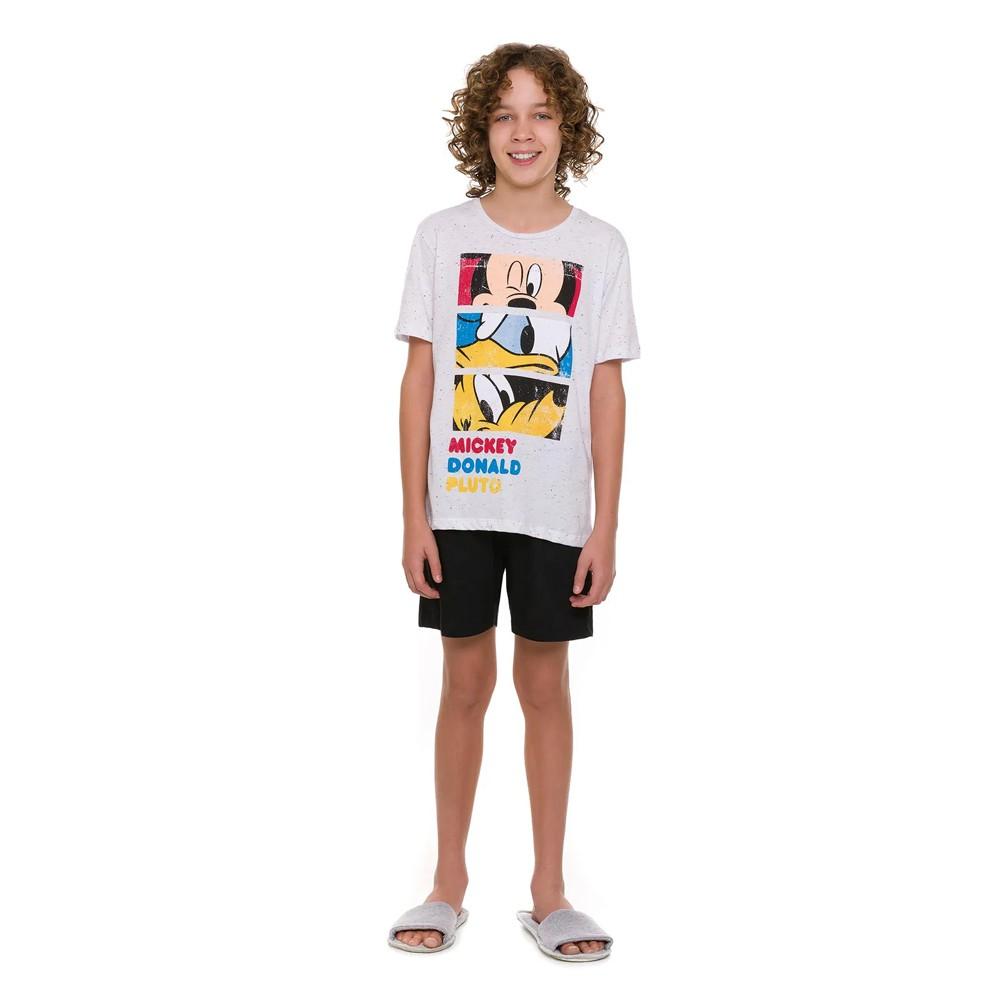 Pijama Juvenil Menino Disney Mickey Friends 53.03.0009