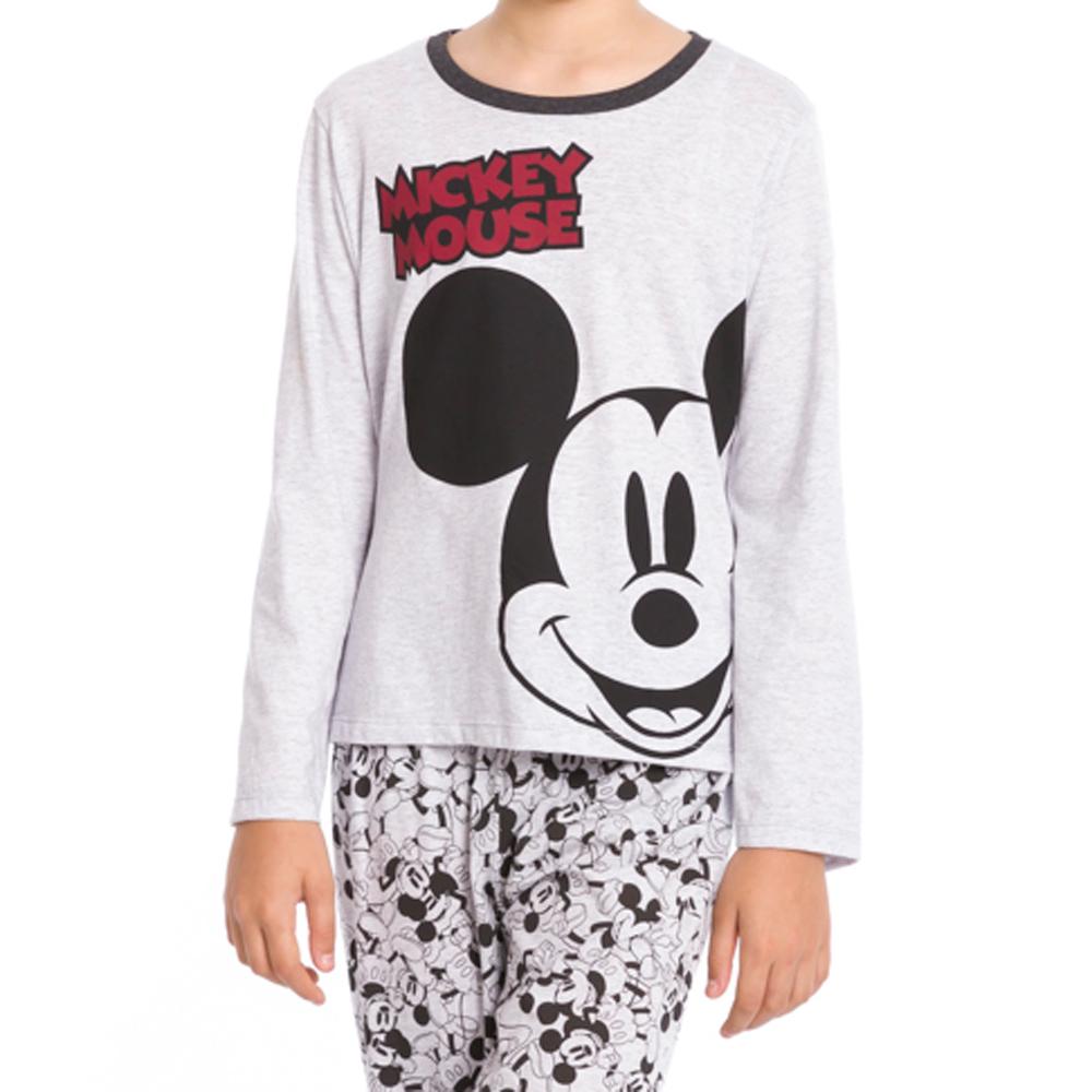 Pijama Longo Juvenil Mickey Mouse - Disney 28.03.0010