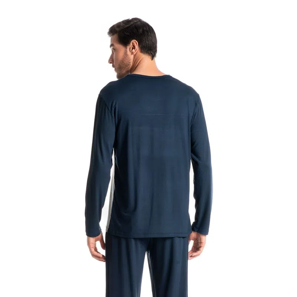 Pijama Longo Masculino Viscolycra