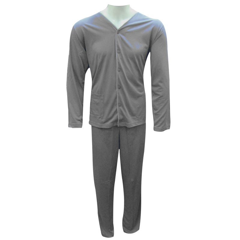 Pijama Masculino Aberto Longo Barone - 13029