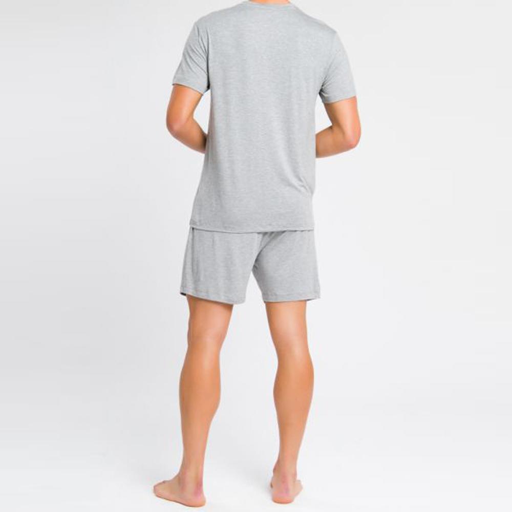 Pijama Masculino Calvin Klein Viscolight Don147 Cinza