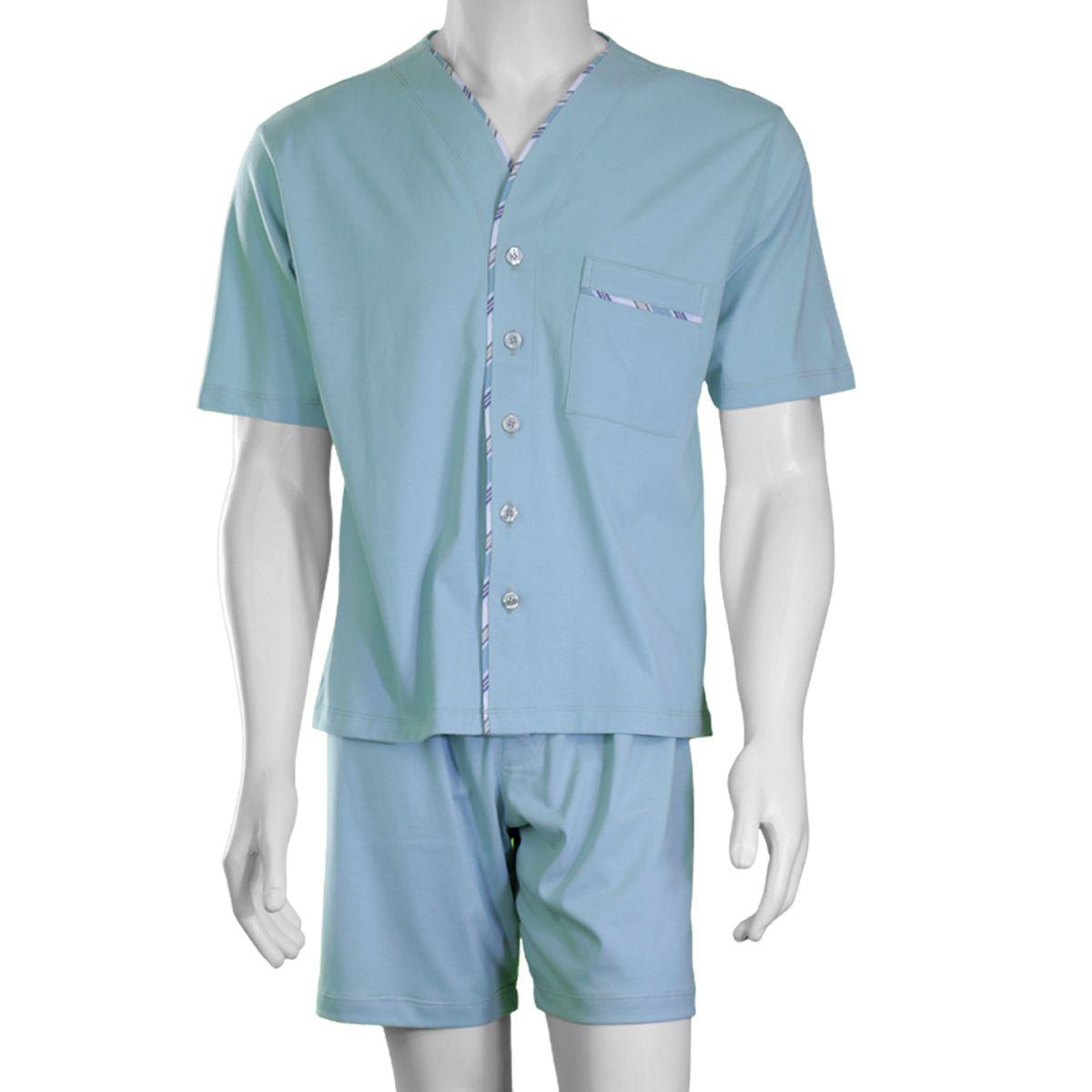 Pijama Masculino Curto Aberto Candisani - 3700