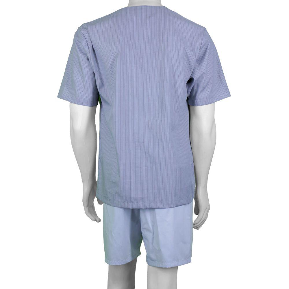 Pijama Masculino Curto Aberto Tricoline - 4200