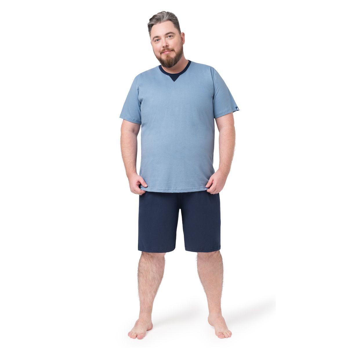 Pijama Masculino Curto Algodão 05.02.003