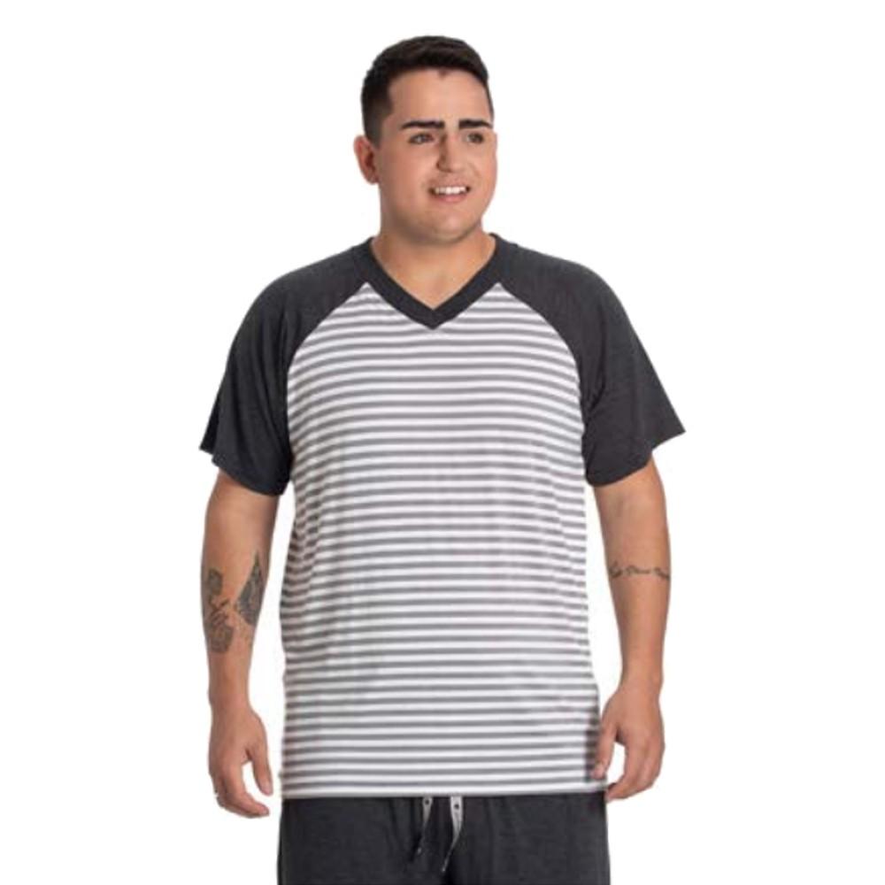 Pijama Masculino Curto Listrado Toque Slepwear 07.02.003