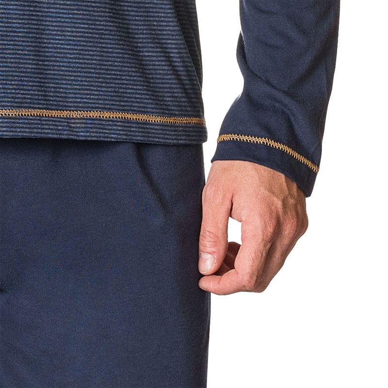 Pijama Masculino Longo 100% Algodão - 04.02.007