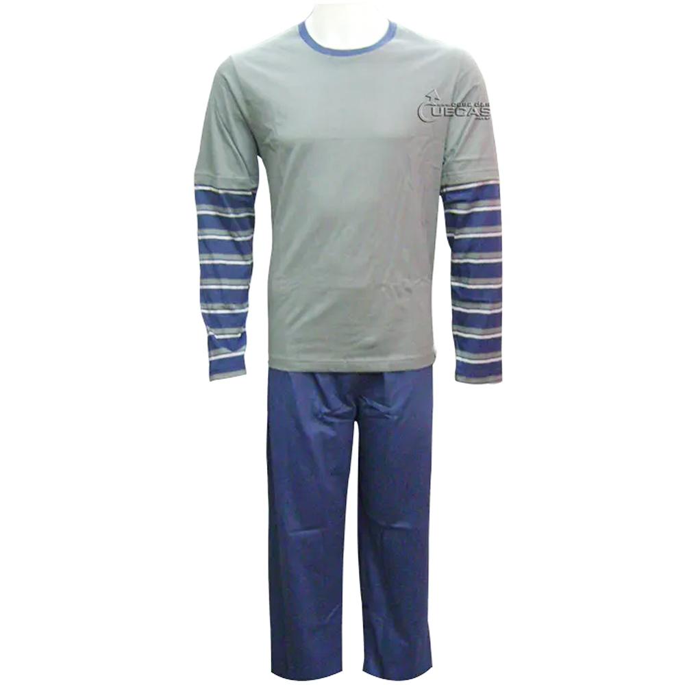 Pijama Masculino Longo 100% Algodão Fitswell - 12113