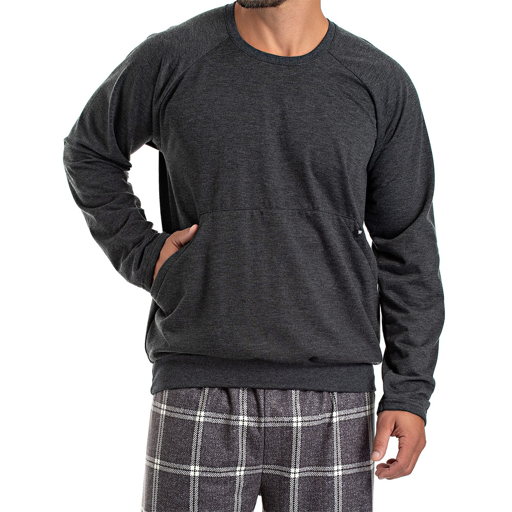 Pijama Masculino Longo Moletinho - 08.02.003