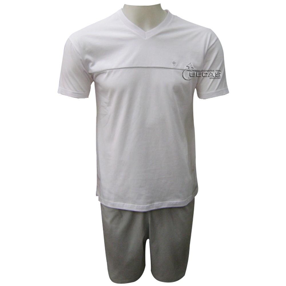 Pijama Masculino Malwee Manga Curta - 200.911