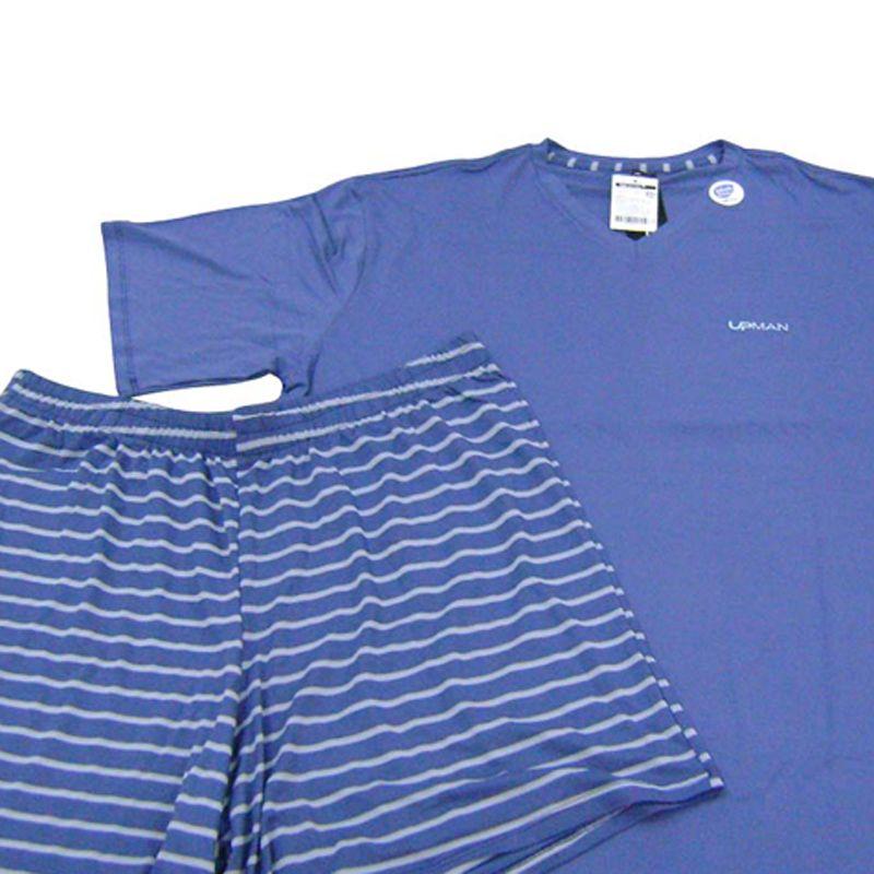 Pijama Masculino Upman Viscolycra Tamanhos Especiais - 611V3