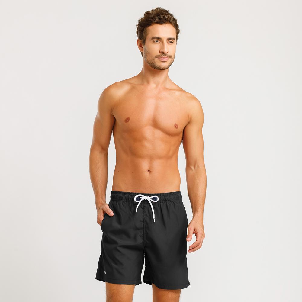 Shorts Beachwear Masculino Mash Preto - 613.11