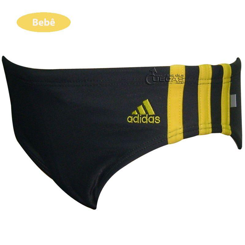 Sunga Bebê Adidas Lateral Fina 3 Listras - V07460