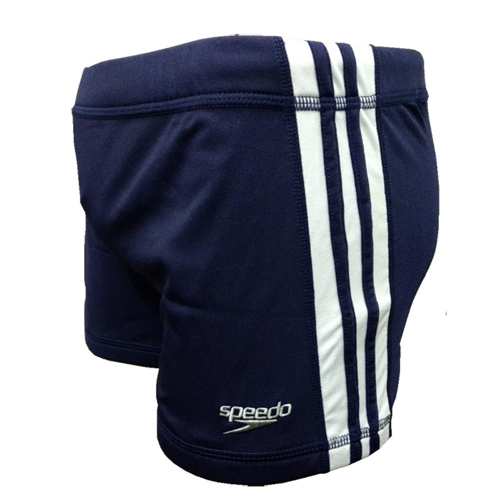 Sunga Boxer Hidroshort Inclined Speedo 24cm Azul Marinho - 019562