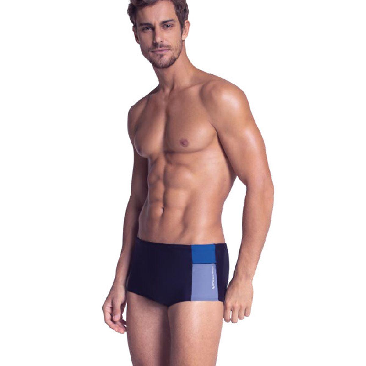 Sunga Larga Lupo Beachwear com Bolso 28972-004