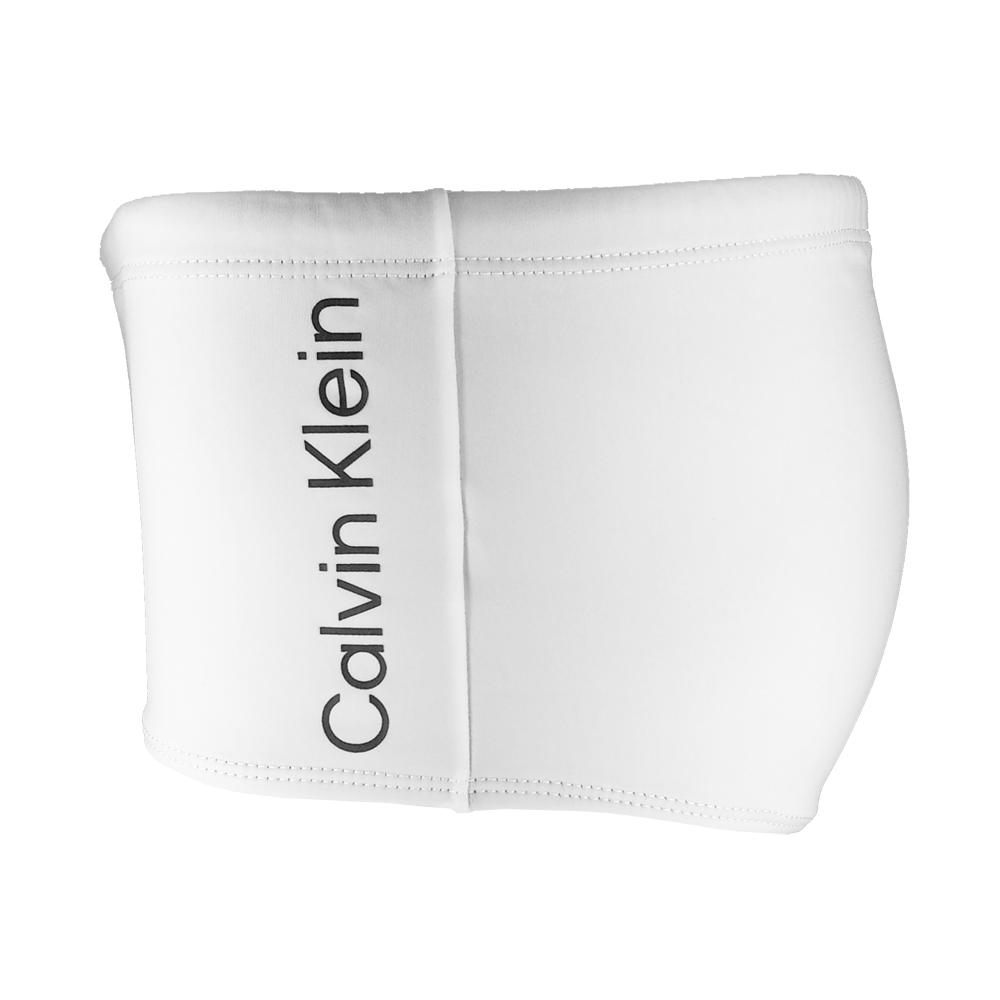 Sunga Trunk Básica Calvin Klein Branca CCCKSWM800A