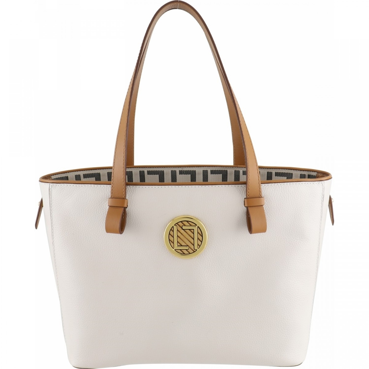 BOLSA LUZ DA LUA SHOPPING BAG NEW RIDGE OFF WHITE
