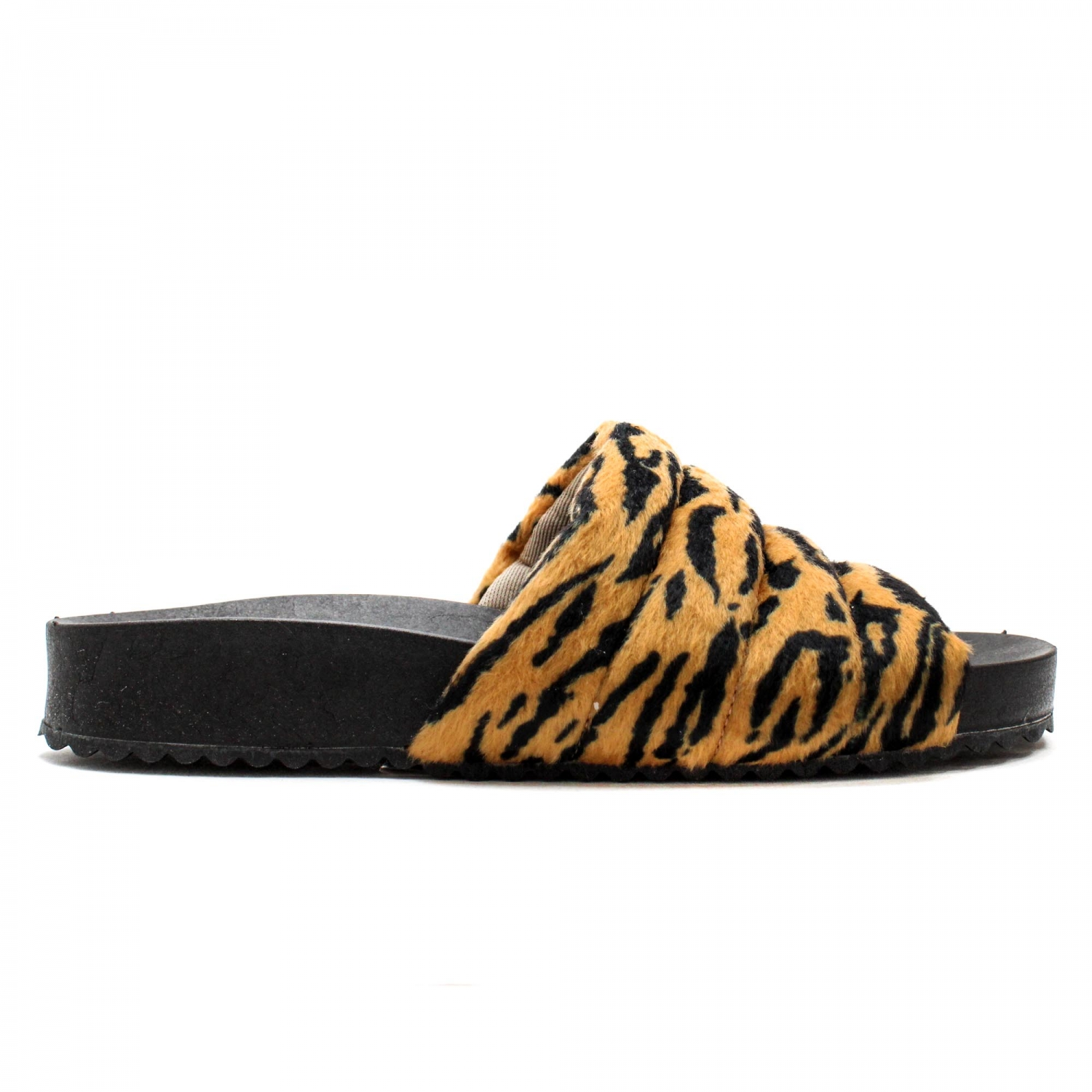 SLIDE HOME PÊLO ANIMAL PRINT ZEBRA